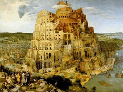 « La tour de Babel » de Bruegel l'Ancien